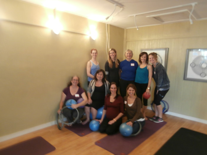 Thanks Kate for a great mat class!